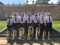 Hitchin Band at Wrest Park July 2016