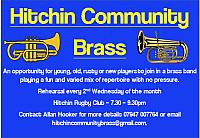 Hitchin Community Brass - First Reahearsal February 2017