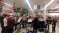 Youth Band at Sainsburys December 2016